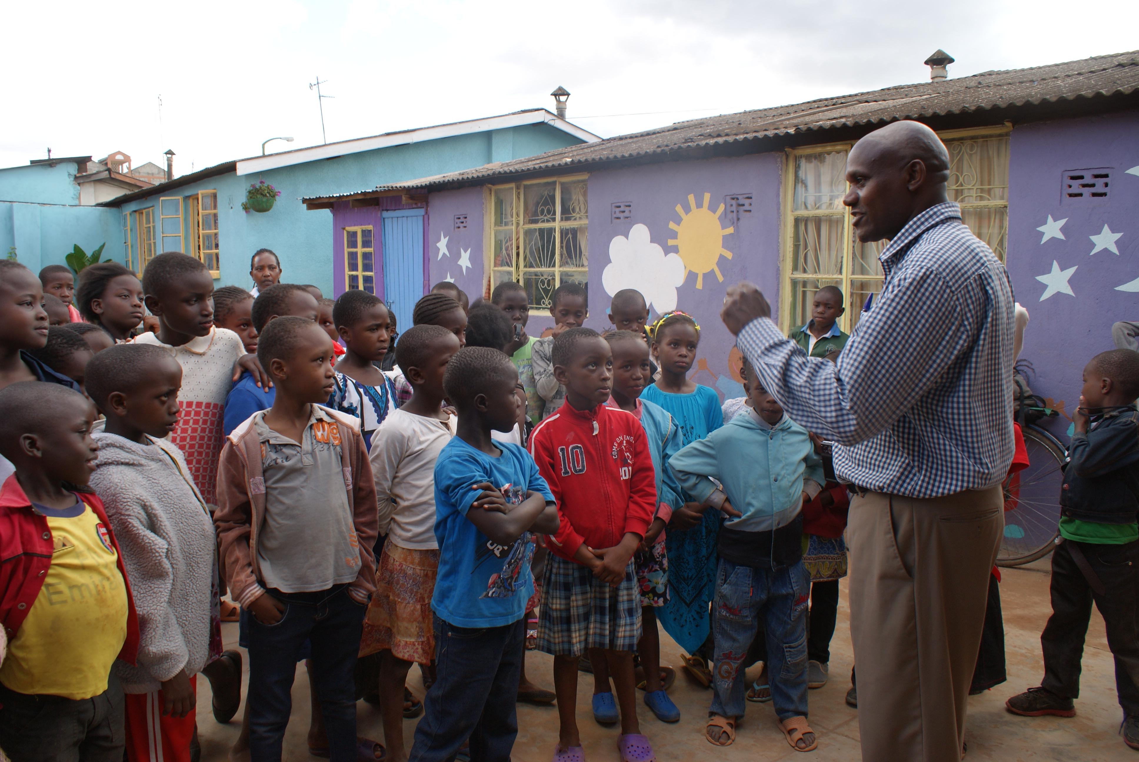 Video z centra TAPA pre deti zo slumu v Keni