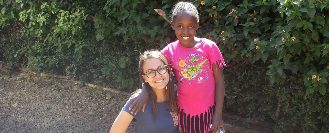 Slovenka učí v Etiópii