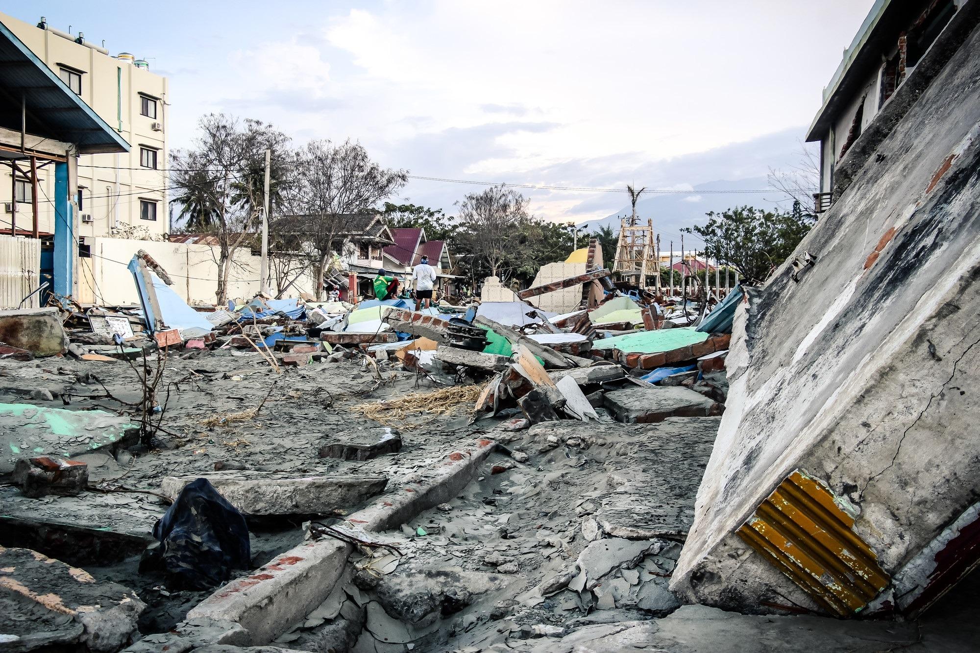 Situácia po zemetrasení