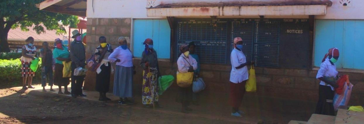 Skoly Potravinove banky Koronavirus Kena